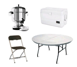 Party Equipment Rentals in the Bay Area