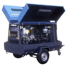Where to find COMPRESSOR 185CFM DIESEL TOW in Oakland
