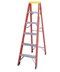 Rental store for LADDER, 14  STEP FIBER GLASS in Oakland CA