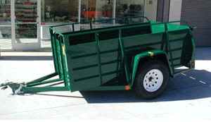 Where to find 5X8 UTILITY TRAILER  581 in Oakland
