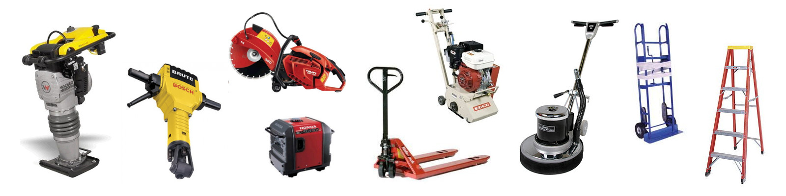 Construction Equipment & Tool Rentals in the Bay Area